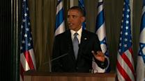 "Obama: Not ""a lot of daylight"" between U.S. and Israel on Iran"