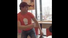 Dunkin' Donuts employee dances with autistic customer in touching video: 'I love my customers'
