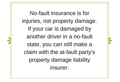 no fault car insurance No-fault insurance what is no-fault coverage and what am i entitled to under it answer:  if there was no auto policy in the household, you should file a claim .