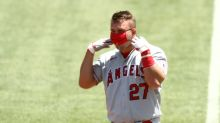 Trout takes a break from Angels to welcome first child