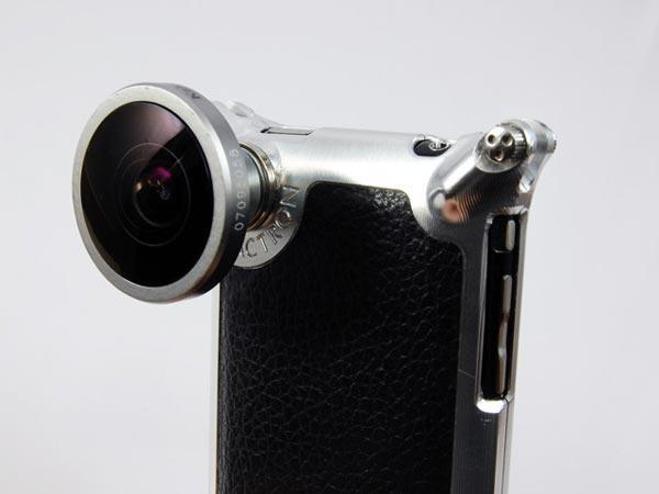 Factron iPhone case packs interchangeable camera lenses, built-in excess