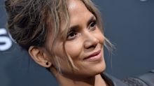 Halle Berry, 54, dances in nothing but heart-print briefs to celebrate Valentine's Day with boyfriend Van Hunt