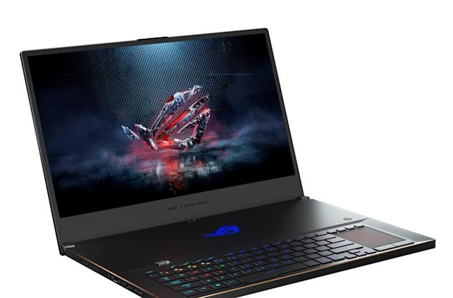 ASUS' thin Zephyrus gaming notebook gets a 17-inch screen