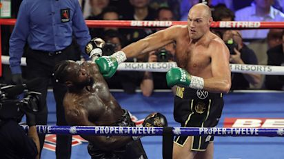 Tyson Fury vows to run over 'one-trick pony' Deontay Wilder in trilogy fight
