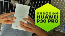 Nuestro Huawei P30 Pro no estaba perdido, andaba de parranda: Unboxing