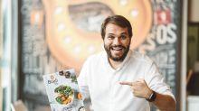 Ele veio do Vale do Silício e criou uma rede de alimentos saudáveis que fatura R$ 35 milhões