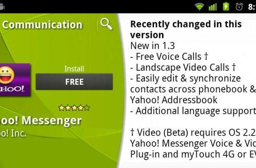 Yahoo! Messenger and ooVoo Mobile do video chat on Android, but only for a lucky few