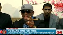 Dennis Rodman Defends North Korea in Angry Rant