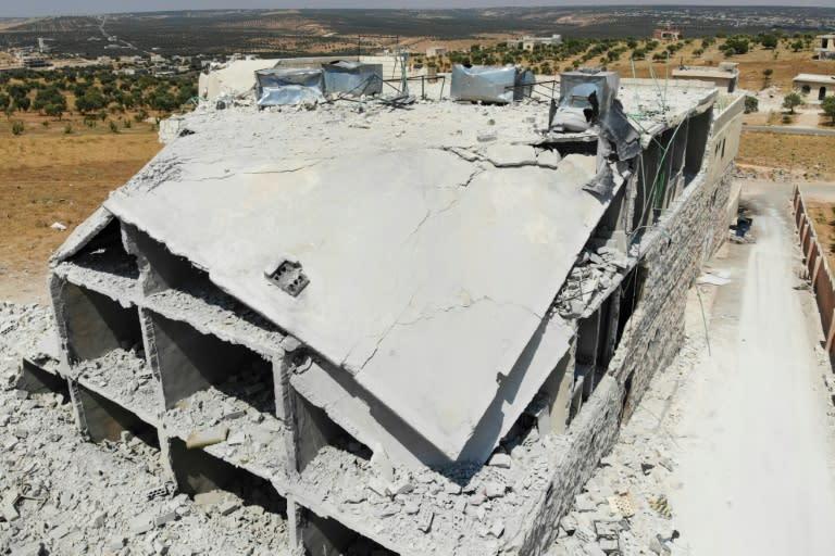 Russia blasts 'fake' UN data on civilian sites in Syria's Idlib