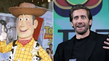 Everyone thinks Jake Gyllenhaal looks like Disneyland's Woody from 'Toy Story'
