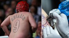 Ink-redible sporting tattoos: The best and worst as fans and players show off their body art
