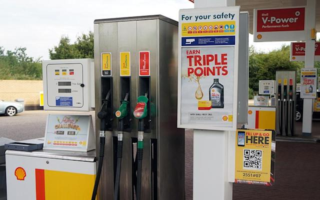 Shell's UK petrol stations let you PayPal at the pump