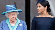 """Queen wird """"betrübt"""" darüber sein, dass Meghan sich durch die Königsfamilie nicht """"beschützt"""" fühlte"""