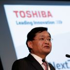 Toshiba CEO to step down as board meets Wednesday to consider his future - source
