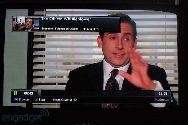 Hands-on with Hulu Plus via Samsung HDTV, iPhone and iPad