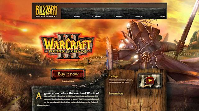 Blizzard gives 16-year-old 'Warcraft III' a widescreen makeover