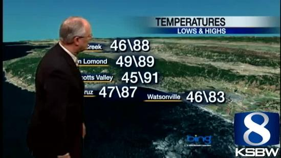 Watch Your KSBW Weather Forecast 06.14.13