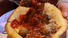 Olive Garden has a new Meatball Pizza Bowl — here's what it's like