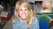 Mum fights for life three times after UTI