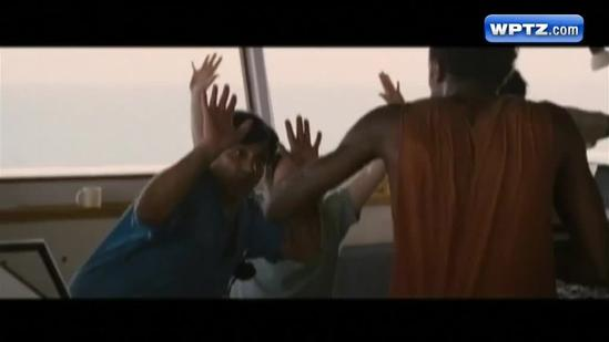 'Captain Phillips' premieres in honor of college student