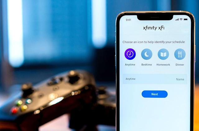 Xfinity's parental controls offer more precise scheduling for internet use