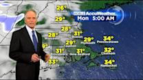 WBZ Accuweather Evening Forecast For March 29