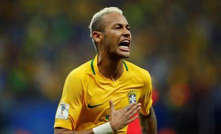 Atacante da seleção brasileira Neymar