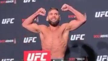 Pesagem do UFC Boston é marcada por animosidade entre Stephens e Rodriguez