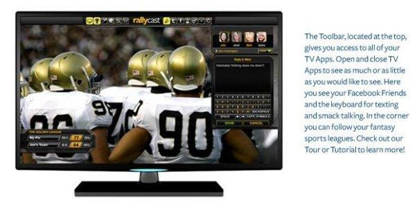 """Rallycast promises """"the equivalent to tabbed browsing"""" on HDTVs, hopefully doesn't mean memory leaks and crashes"""