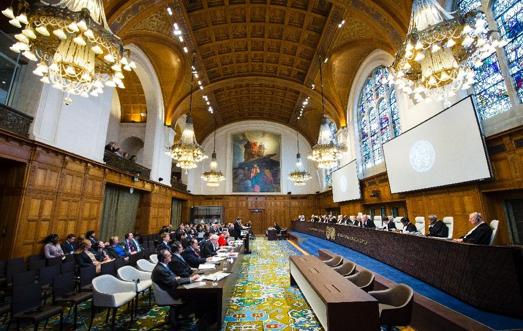 The International Court of Justice can only rule in disputes when both the countries involved have accepted its jurisdiction (AFP Photo/Handout, FRANK VAN BEEK)