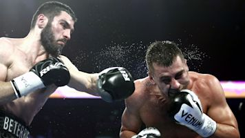 Beterbiev unifies light heavyweight titles