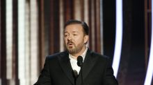 Tom Hanks' reaction to Ricky Gervais's brutal Golden Globes monologue is perfect