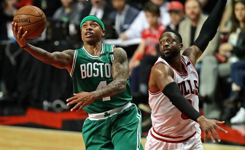Boston Celtics vai em busca da virada pra cima do Chicago Bulls