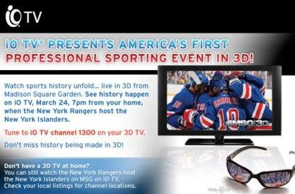 Cablevision bumps Comcast to the back, 3D sports at home starts next week