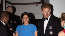 Duchess Meghan dazzles in her first royal gown for Fiji state reception