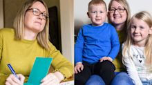 The heartbreaking reason this mum is signing her children's birthday cards in advance