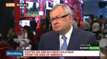 VTB Bank's Kostin on Brexit, U.S.-Russia Relations