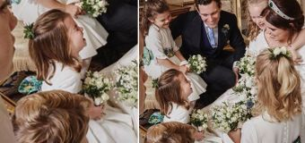 Charlotte steals the show in new Eugenie wedding snap