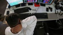 Nifty, Sensex close lower, financials drag