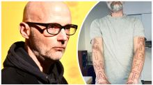 Moby marks 32 years of veganism with massive tattoo