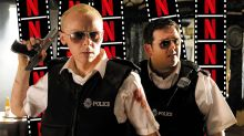 Simon Pegg reveals 'Hot Fuzz' sequel would've gone to 'the big city'
