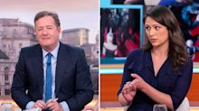 Piers Morgan angers Corrie's Nicola Thorp after heated discussion about sexism