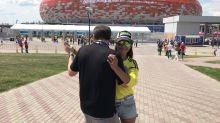 Colombia disfruta del Mundial al ritmo del baile