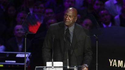 Michael Jordan's poignant Kobe tribute: 'A piece of me died'