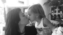Kourtney Kardashian Is the Latest Celeb to Kiss Her Kid on the Lips