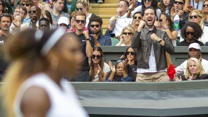Serena's husband serves up snark for critic