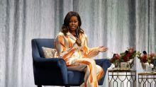 Elegant statt verschnarcht: Michelle Obama im Pyjama-Look