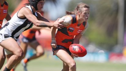 Giants account for winless Magpies in AFLW