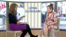 Lena Dunham Mentions the Male Anatomy on 'Today' Show and Maria Shriver Turns 50 Shades of Red