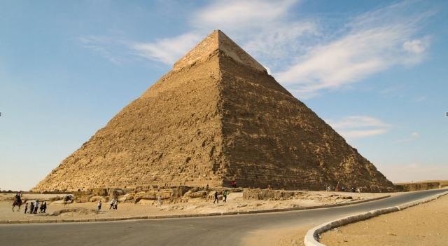 Researchers think water helped ancient Egyptians build the pyramids